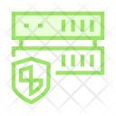 Server Storage Shield Icon