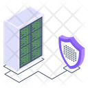 Database Safety Server Security Dataserver Security Icon