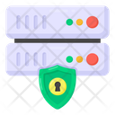 Data Security Server Security Datacenter Security Icon