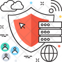 Server Security Shield Icon