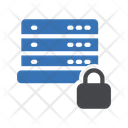 Server Security Private Database Server Icon