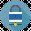 Server Security Lock Icon