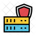 Server Shield Security Icon