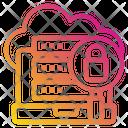 Server Security Analytics Icon