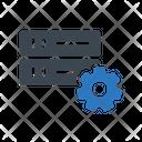 Server Database Development Icon
