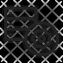 Settings Server Database Icon