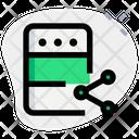Server Share Icon