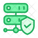 Protected Server Secure Server Online Storage Icon