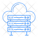 Server Storage Cloud Icon