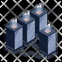 Servers Data Centers Server Technology Icon