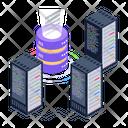 Server Technology Server Room Data Hosting Icon