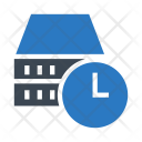Server Database Time Icon