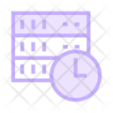 Clock Time Storage Icon