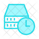 Timeout Time Clock Icon