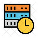 Server Clock Time Icon
