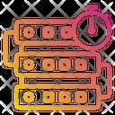Server Data Time Icon