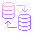 Iserver To Server Server To Server Database To Database Icon