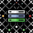 Server Transfer Database Data Storage Icon