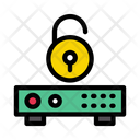 Unlock Server Data Icon