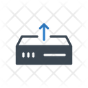 Server Upload Storage Icon