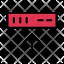 Upload Server Storage Icon