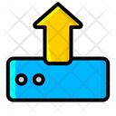 Server Upload Server Uploading Database Upload Icon
