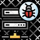 Server Virus Server Bug Server Icon