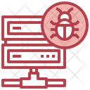 Server Virus Icon
