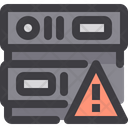 Warning Server Warning Database Warning Icon