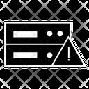 Server Warning Server Error Server Alert Icon