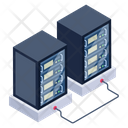 Databases Data Centers Servers Icon