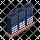 Databases Storage Databanks Icon