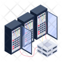 Server Room Servers Data Centers Icon