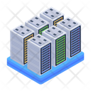 Data Racks Server Towers Servers Icon
