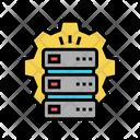 Servers Work Service Icon