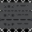Data Storage External Data Storage Storage Icon