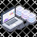 Servers Statistics Servers Analytics Server Graph Icon