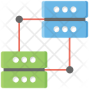 Server Connected Mainframe Icon