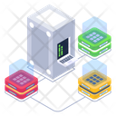 Servers Network Shared Servers Servers Connection Icon