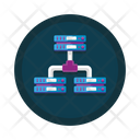 Hierarchy Architecture Server Connection Icon