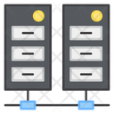 Data Servers Server Racks Databases Icon