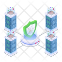 Data Centers Security Servers Security Data Security Icon
