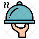 Food Served Dinner Icon