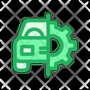 Car Service Repair Maintanance Icon