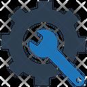 Gear Maintenance Repair Icon