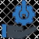 Configuration Gear Service Icon