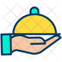 Cloche Food Food Serving Icon