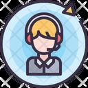 Service Customer Care Customer Support Icon