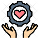 Service Support Heart Icon