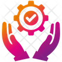 Service Support Man Icon